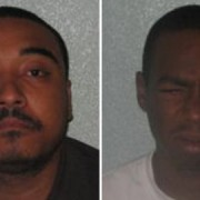 Ranjit Nankani and Dwayne McPherson. Pic:Met Police