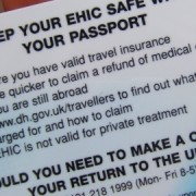 The European Health Insurance card covers necessary medical treatment abroad