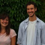Jess Latowicki and Tim Cowbury. Photo: Megan Clarke