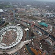 The Olympic park. Photo: London 2010