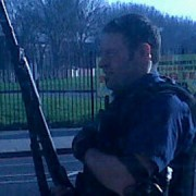 Armed policeman in Catford. Photo: Twitter