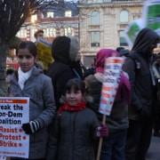 hackney protest cuts