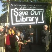 There was a strong campaign to stop Lewisham's libraries from closure