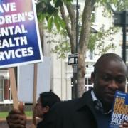 Protester. Photo: Jacquie Owen