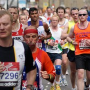 London Marathon Runners Pic: Julian Mason