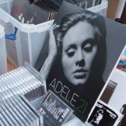 A signed copy of Adele's chart-topping album