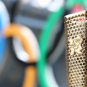 The Olympic torch. Pic: LOCOQ