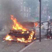 Hackney fires. Pic: Belinda Otas