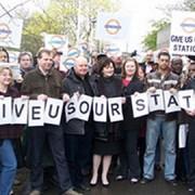 Locals campaign in Lewisham. Pic: Lewisham Council