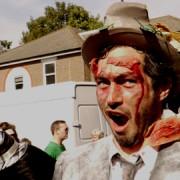 Zombie protester. Photo: Sophia Ignatidou