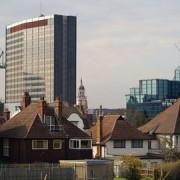 Croydon Council Headquarters, pic: Peter Trimming