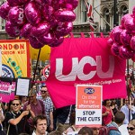 UCU members vote for assessment boycott. Photo: Pete on Flickr.