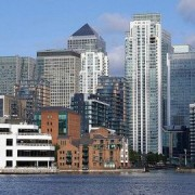 canary wharf . pic : The Canary Wharf Group