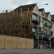 New houses being built in Croydon pic: Peter Trimming