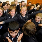 Pupils at a London free school pic: Hammersmith and Fulham council