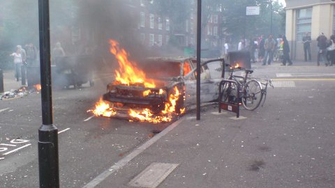 riots in Croydon