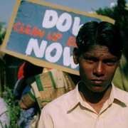 Rally against Dow in Mumbai, 2002 pic: Ascanio