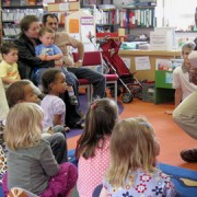 Children enjoy one the library's many events pic: Crystal Palace Community Association
