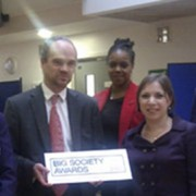 Bridge Academy wins Big Society Award pic: Number10
