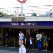 Tower Hill station is to be accessible for disabled people pic: Ewan Munro