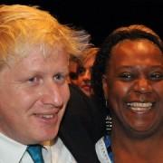 Pauline Pearce meeting Boris Johnson in 2011 pic: BackBoris2012, flickr