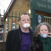 Chris Smith and Jenny Jones of the Green Party.
