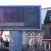 Olympic Screens - Pic: David Anstiss
