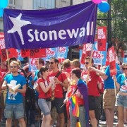 Stonewall at Pride London July 2010 pic: anemoneprojectors (no internet at the moment) (Flickr)
