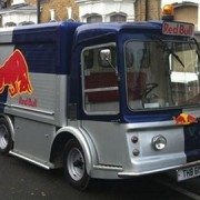 Red Bull truck, Pic; Rachael Healy