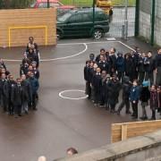 Children at St Joseph's oppose sewer plans