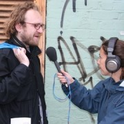 Francesca Panetta at work pic: Hackney Podcast