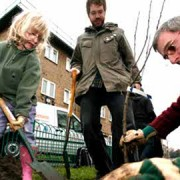 Growing your own food is becoming popular in Hackney pic: Hackney Council