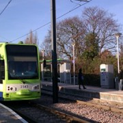 New trams in Croydon, Pic: Praveen Sundaram