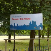 Tower Hamlets goes live Pic: Gordon Joly via Flickr