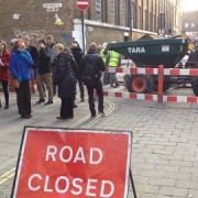 Olympic Games take the bricks out of Brick Lane pic: Adelle Kalakouti