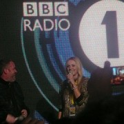 Chris Moyles and Fearne Cotton at the huge Radio 1 event in Carlisle last year pic: LLoydi