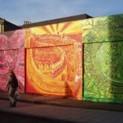 An elaborate mural on Coulgate Street, Brockley pic: Ewan Munro, flickr