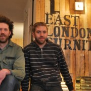 Christian Dillion and Ben Green of East London Furniture Pic: Aaron Lee