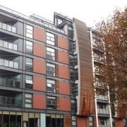 German Gorbuntsov's flat on Byng Street where he was shot outside. Pic: David Anstiss