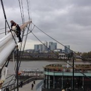 The Cutty Sark Rejoins London's Skyline