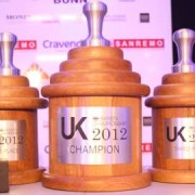 Winner's Trophies for 2012 Uk Barista championships. Photo: George Drake Jr