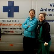 Jodie Bambridge, Kathy Taylor and Katy O'Hara pic: Joanna Kindeberg