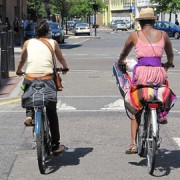 A sunny cycle in the East End. Image: I Bike London