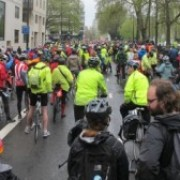 The Big Ride start on Park Lane photo: Alex Bishop