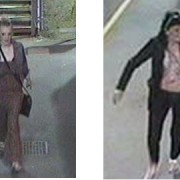 Alternative images of the two women sought by British Transport Police
