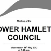 Agenda document for Meeting of Tower Hamlets Council disrupted by the arrest of one of its councillors