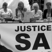 Justice for Sam event at the Shoreditch Festival in 2010