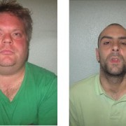 Gary Paget (left) and Richard Sarsfield (right) Photo: Met Police
