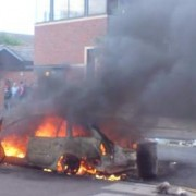Summer riots 2011. Photo: East London Lines