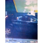 Laura Johnson at the wheel of a car on the night of the last summer's riots- an image used in evidence at her trial. Photo: Met Police